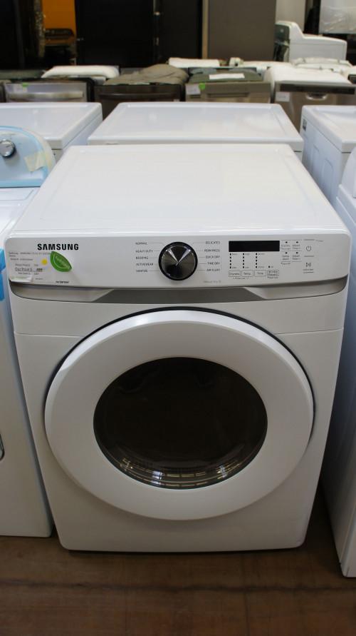 "27"" Samsung DVE45T6000W Electric Dryer"