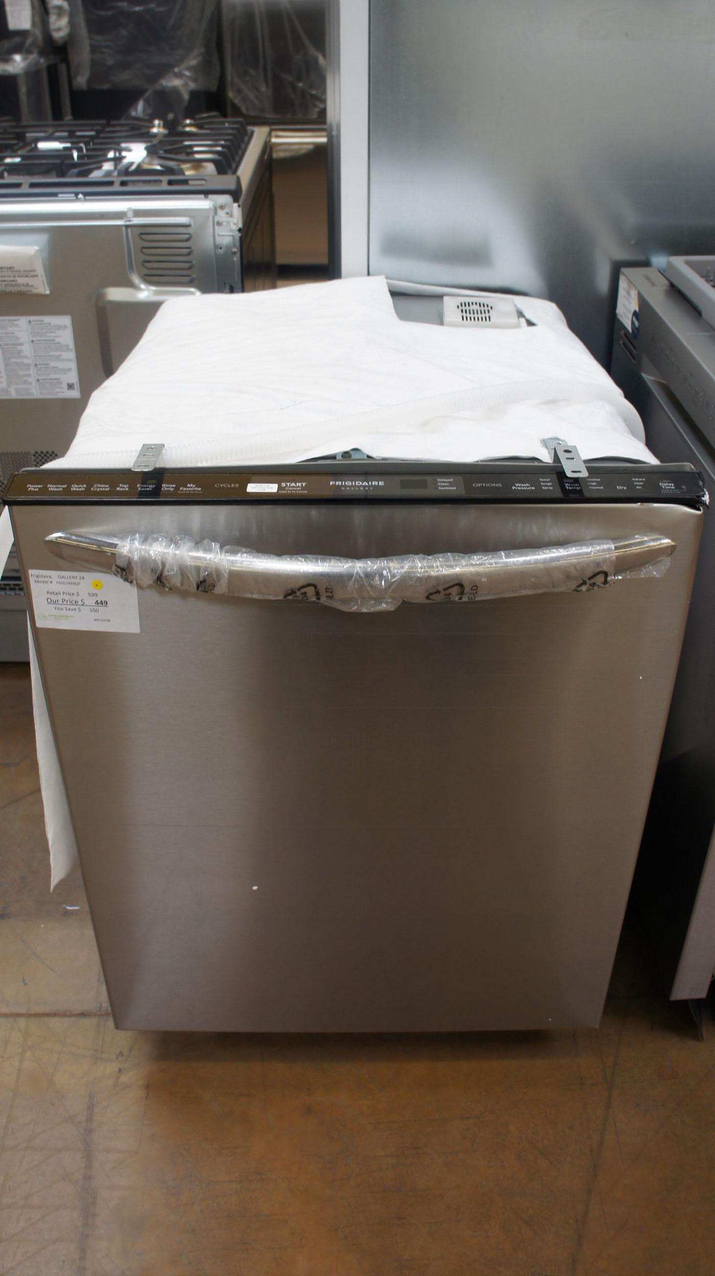 "24"" Frigidaire FGID2466QF Fully Integrated Dishwasher"