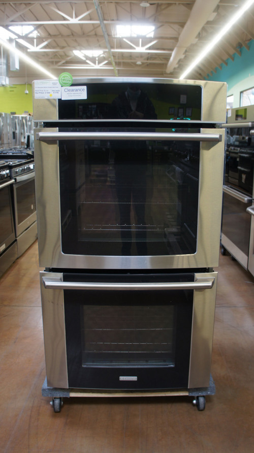 "27"" Electrolux EW27EW65GS 3.5 cu.ft. Double Electric Oven"