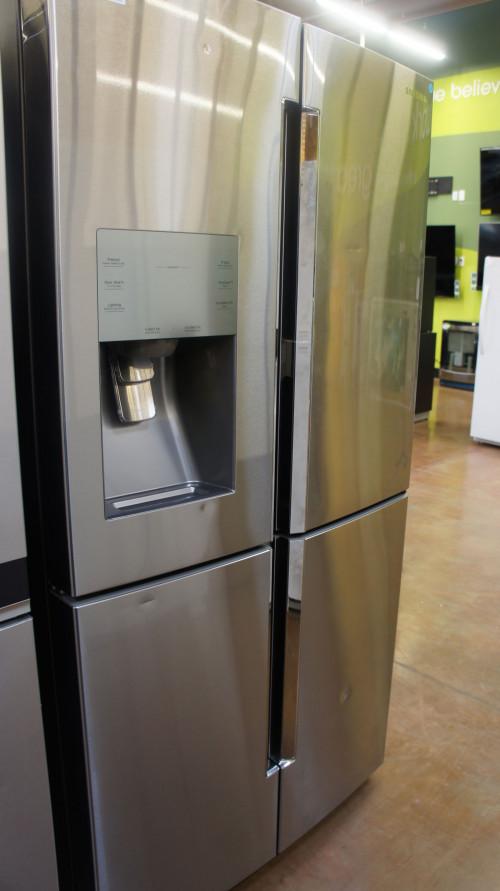 """36"""" Samsung RF28K9380SR 4 Door French Door 28 cu.ft. Refrigerator"""