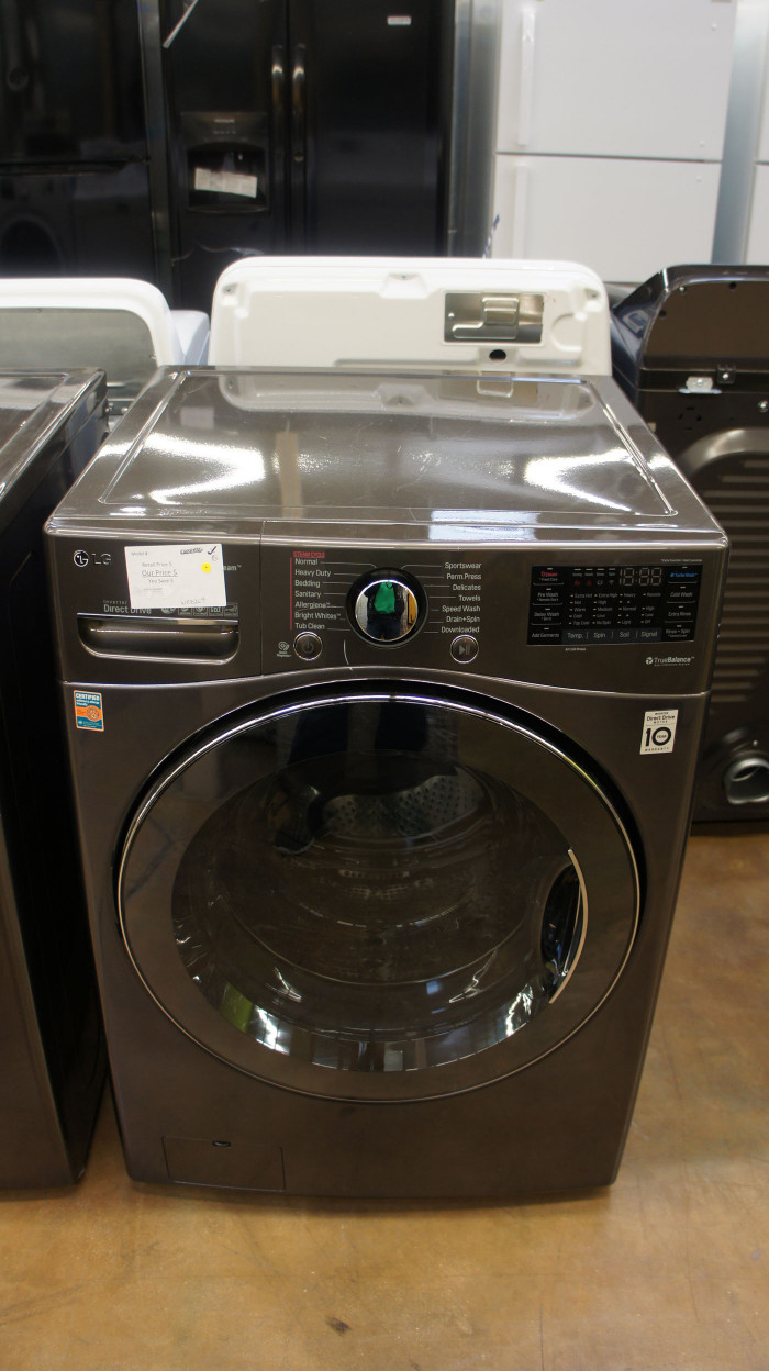 """27"""" LG WM3900HBA 4.5 cu.ft. Capacity Front Load Washer"""