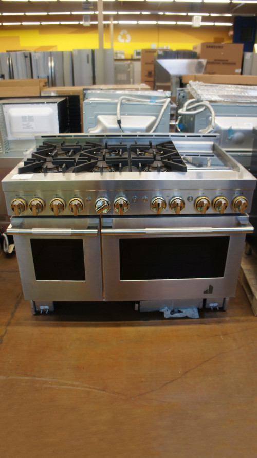 "48"" JennAir JGRP548HL Smart Freestanding Gas Range"