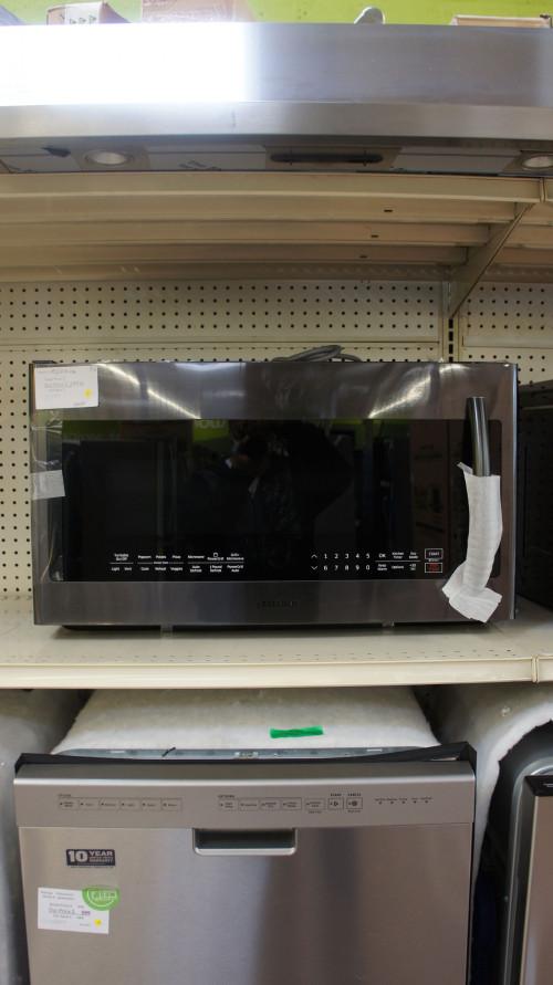 """30"""" Samsung ME21K7010DG 2.1 cu.ft. Over-The-Range Microwave"""