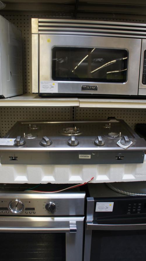 "30"" Samsung NA30N6555TS Gas Smart Cooktop"