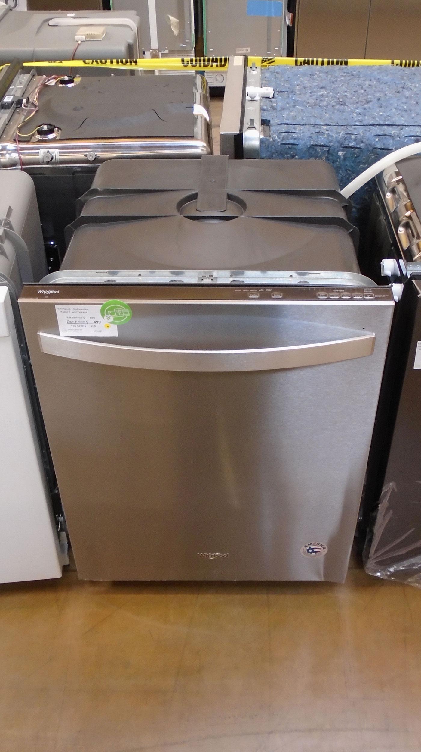 """24"""" Whirlpool WDT730PAHZ Dishwasher"""