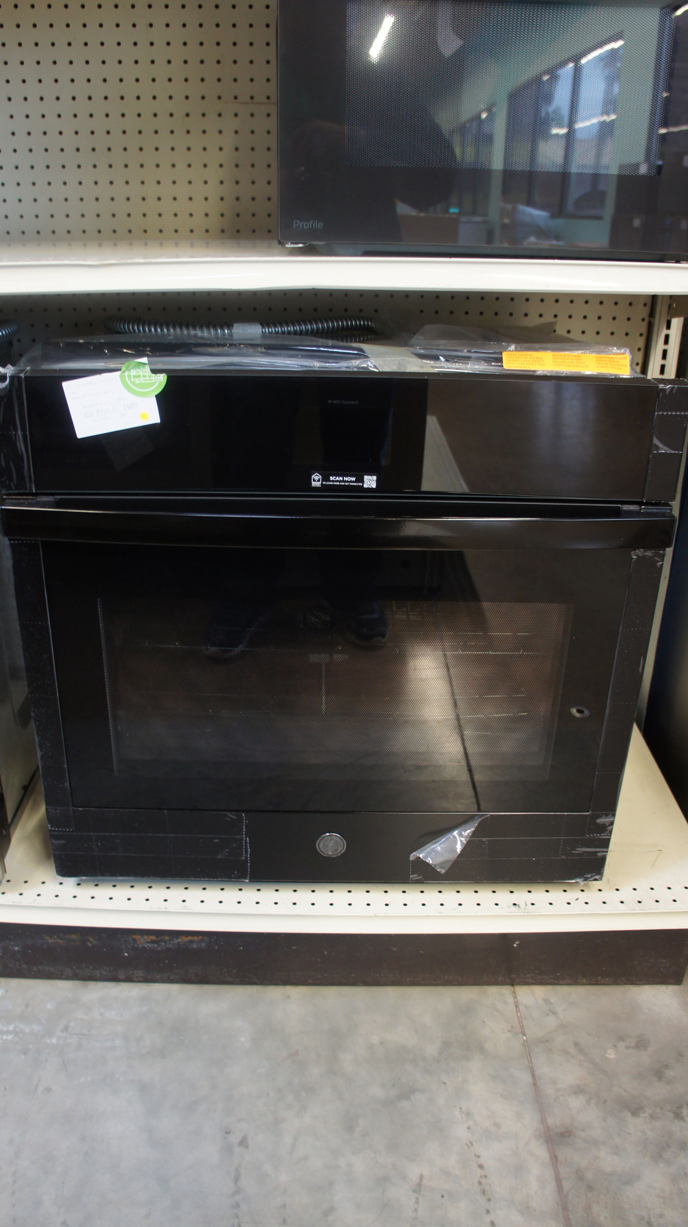 """30"""" GE JTS5000DNBB 5.0 cu.ft. Built-In Convection Wall Oven"""