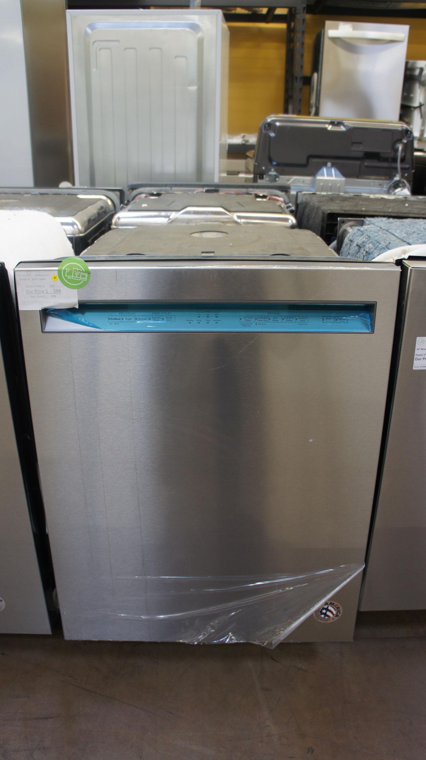 "24"" KitchenAid KDFE104HPS Built-In Dishwasher"
