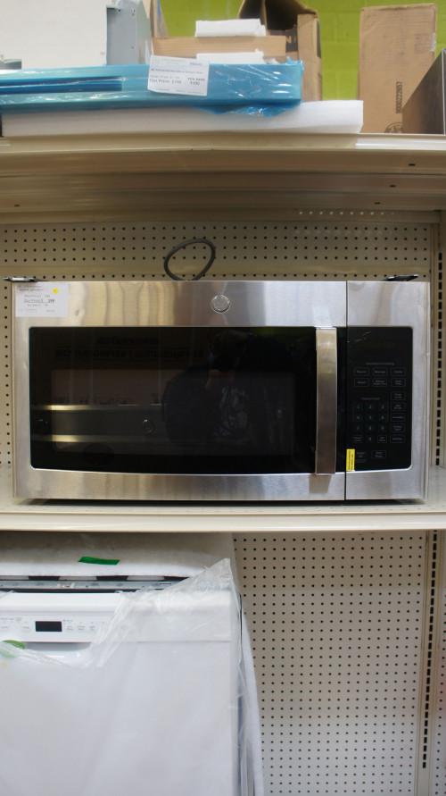 "30"" GE JVM3160RFSS Over The Range Microwave"