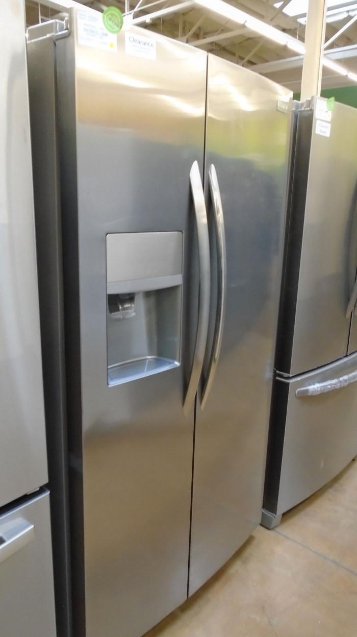 """36"""" Frigidaire LGHK2336TF 22.2 cu.ft. Side-By-Side Refrigerator"""