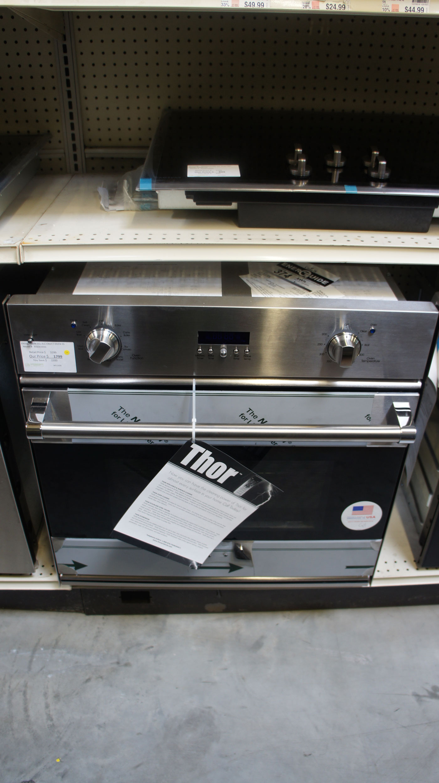 """30"""" Viking RVSOE330SS 4.3 cu.ft. Single Electric Wall Oven"""