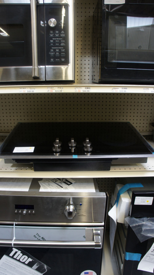 "30"" Samsung NZ30K6330RS Element Electric Cooktop"