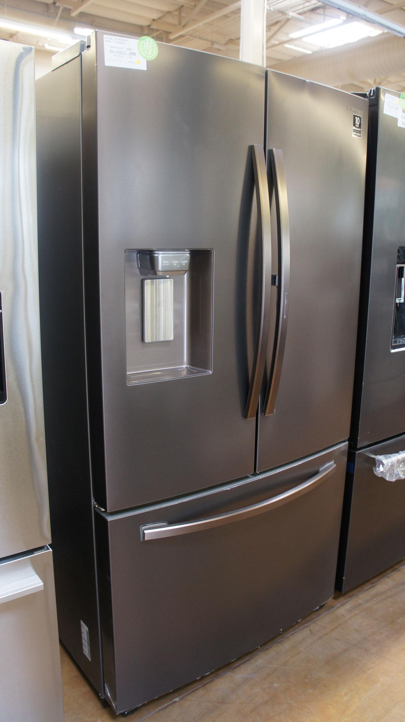 "36"" Samsung RF28R6301DT 28 cu.ft. French Door Refrigerator"