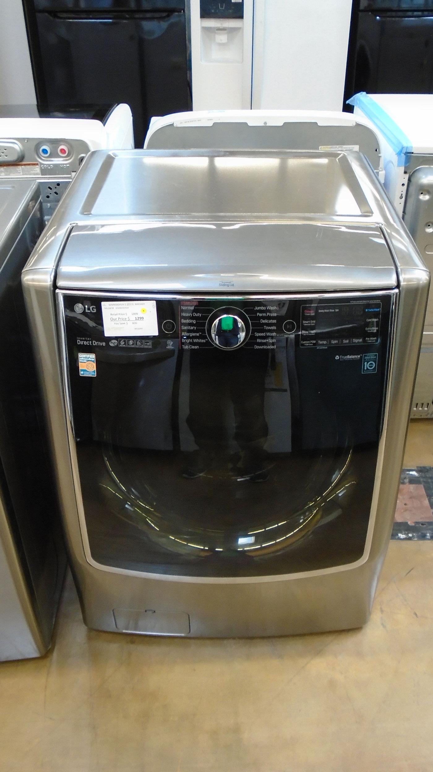 "29"" LG WM9000HVA 5.2 cu.ft. Front Load Washer"