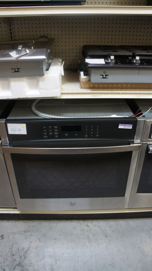"30"" GE JTS3000SNSS Wi Fi Electric Single Wall Oven"