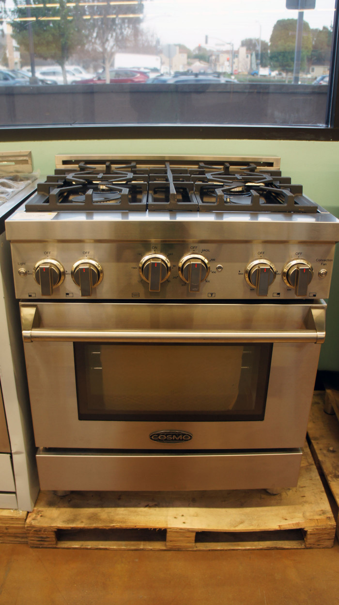 "30"" Cosmo COS-GRP304 3.9 cu.ft. Gas Range"