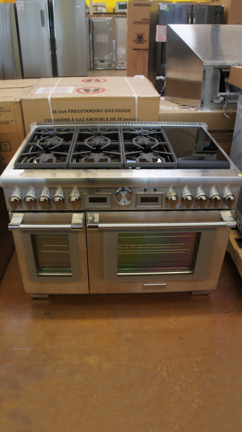 "48"" Thermador Pro Grand PRD486WIGU Duel Fuel Range"