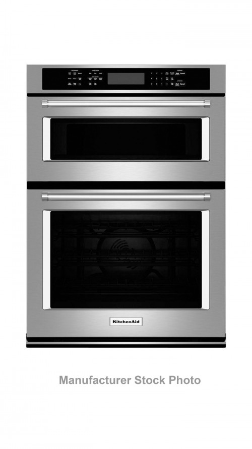 "27"" KitchenAid KOCE507ESS Combination Wall Oven"