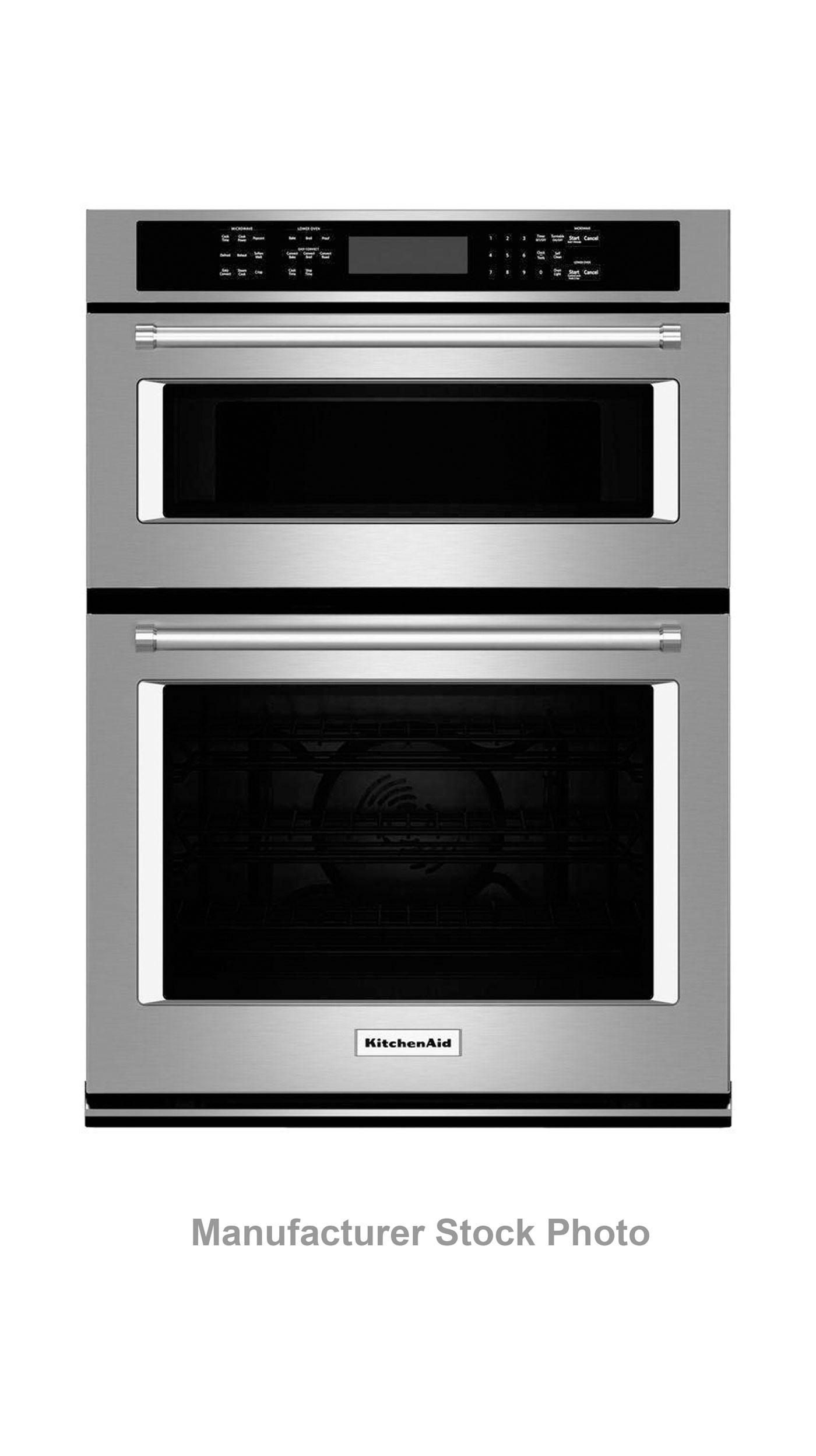"27"" KitchenAid KOCE507ESS Combination Wall Oven"