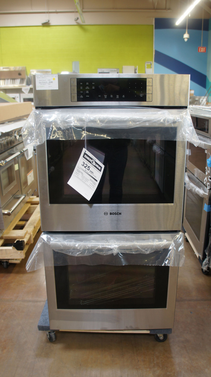 "27"" Bosch HBN8651UC 4.1 cu.ft. Double Electric Wall Oven"