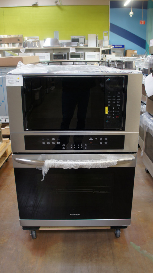 "30"" Frigidaire FGMC3066UF Electric Combination Wall Oven"