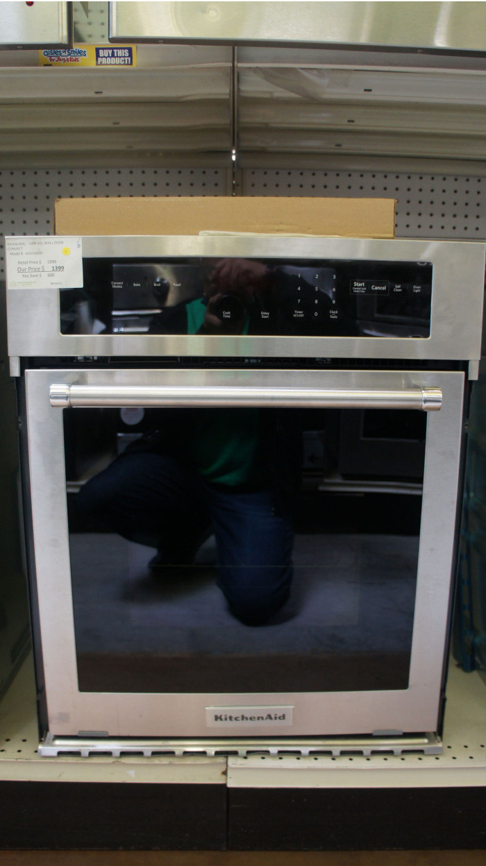 "24"" KitchenAid KOSC504ESS Single Electric Wall Oven"