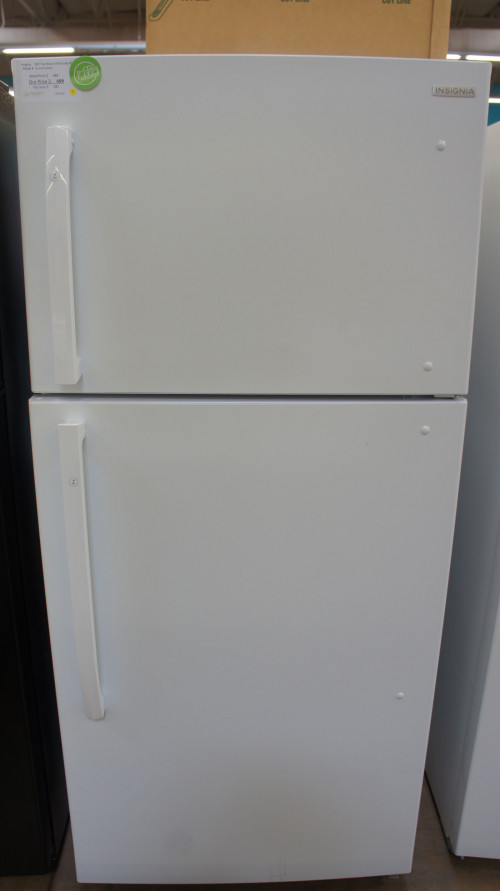 "30"" Insignia NS-RTM18WH8 Top Freezer Refrigerator"