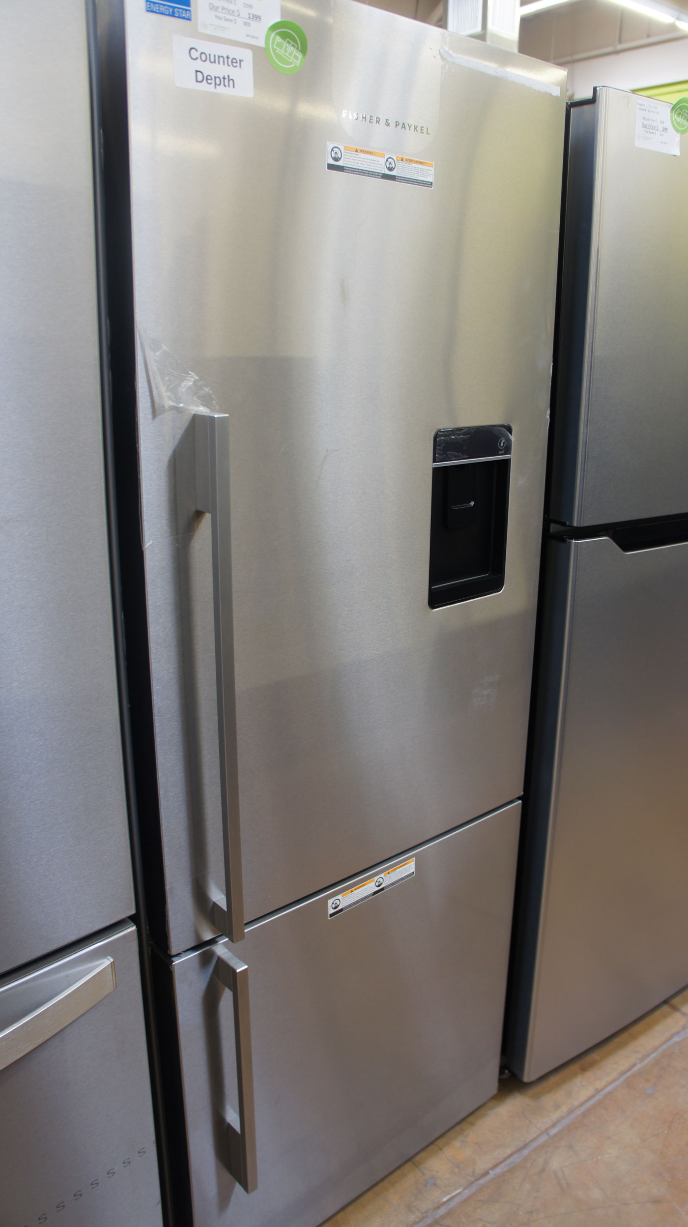 """25"""" Fisher & Paykel RF135BDRUX4 13.5 cu.ft. Counter-Depth"""
