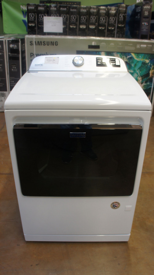 "27"" Maytag MGD7230HW 7.4 cu.ft. Gas Smart Dryer"