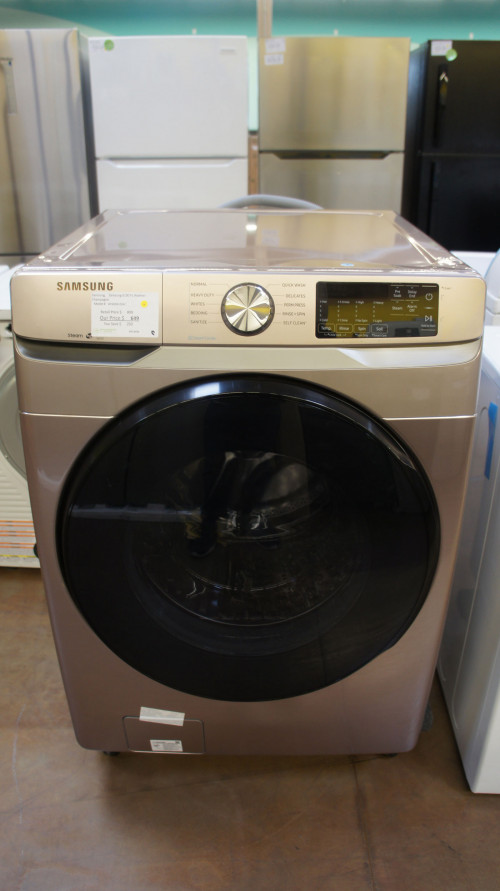 "27"" Samsung WF45R6100AC 4.5 cu.ft. Front Load Washer"