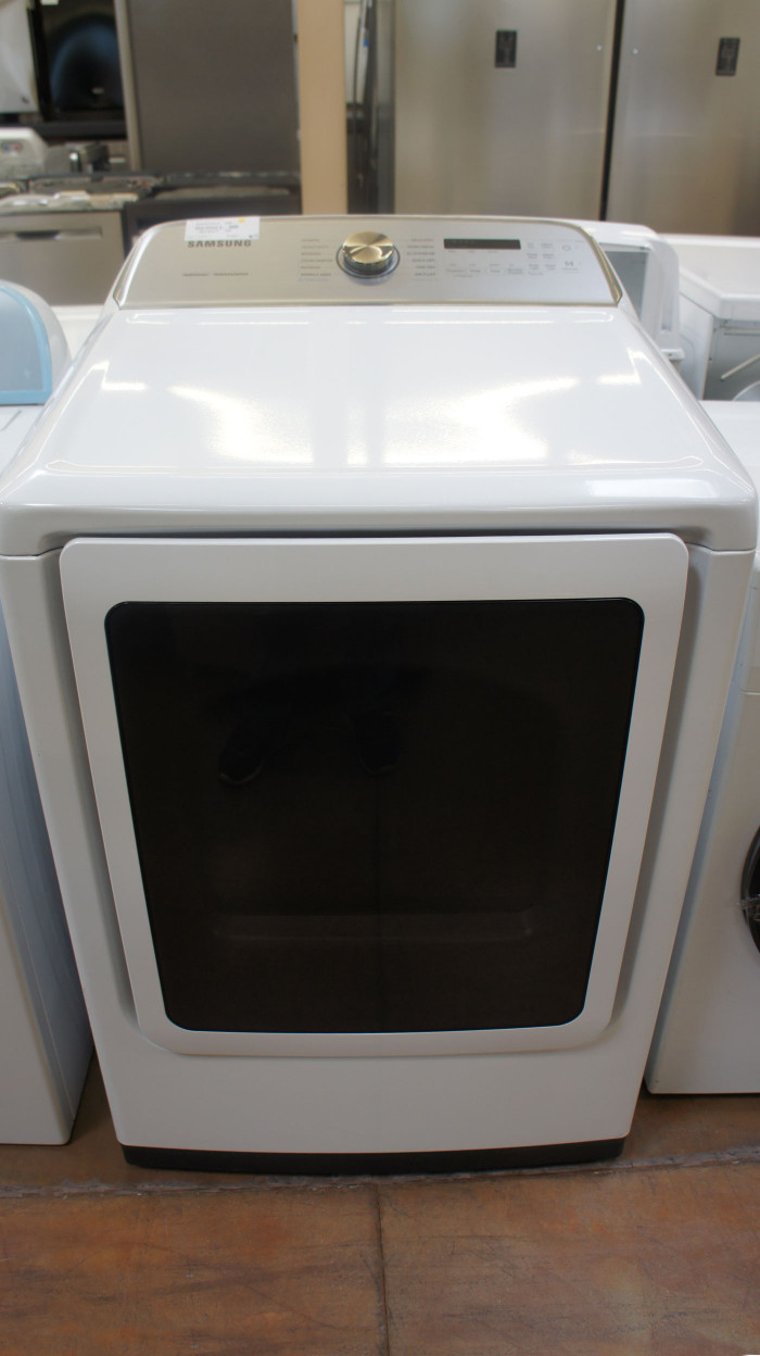"27"" Samsung DVE50R5400V 7.4 cu.ft. Capacity Electric Dryer"