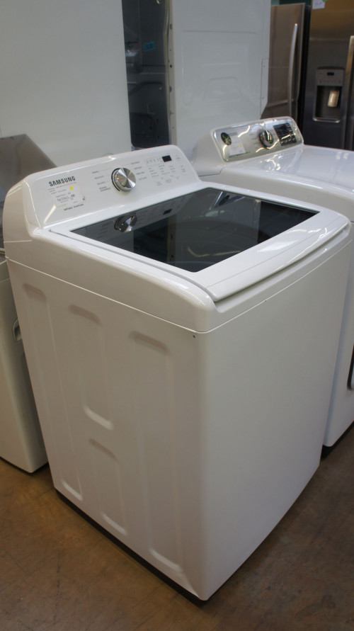 "24"" Samsung WA45T3200AW 4.5 cu.ft. Top Load Washer"