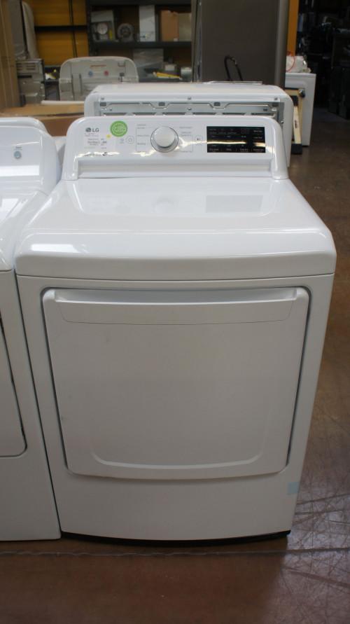 "27"" LG DLG7101W 7.3 cu.ft. Front Load Gas Dryer"
