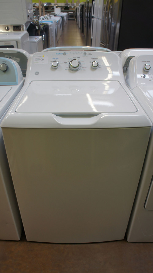 "27"" GE GTW335ASNWW 4.2 cu.ft. op Load Washer"