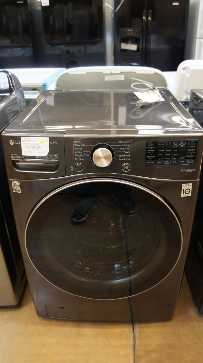 "27"" LG WM4000HBA 4.5 cu.ft. Smart Front Load Washer"