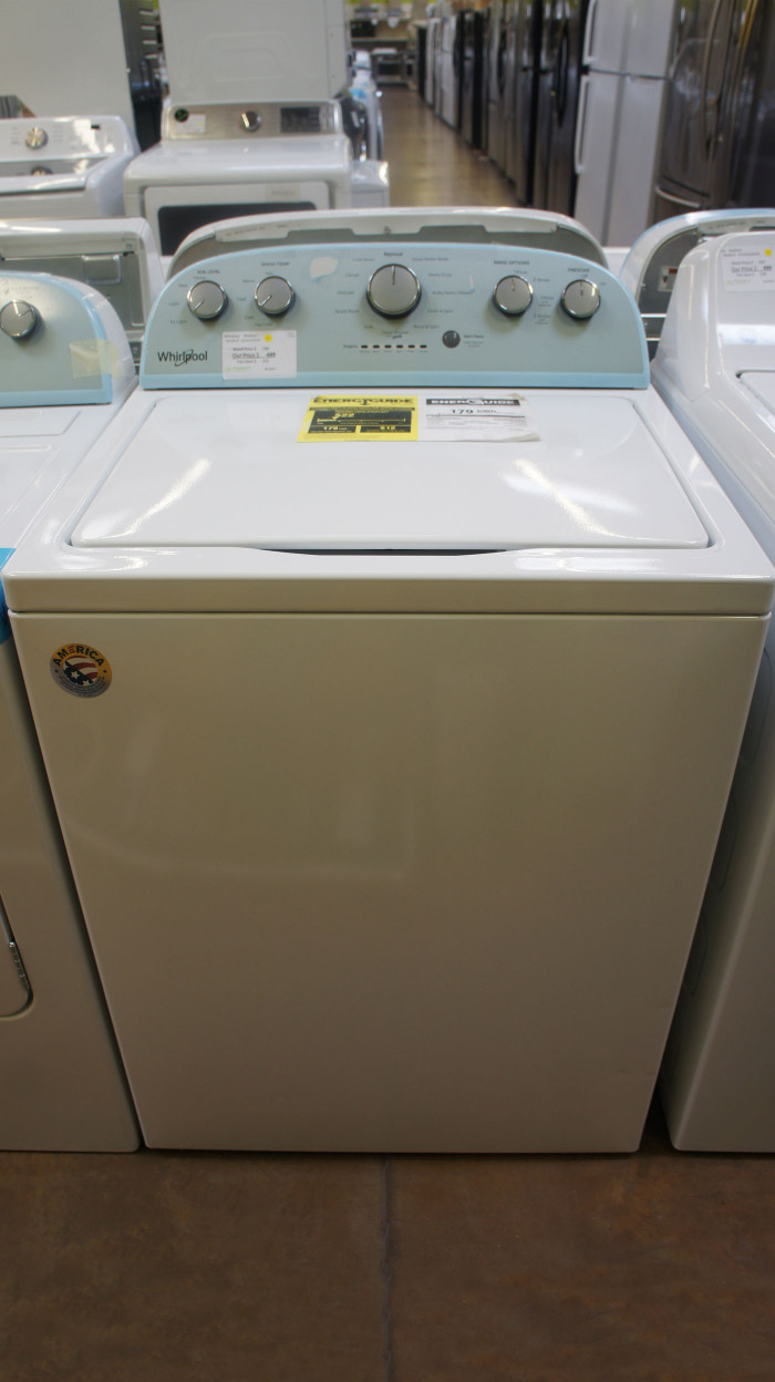 """28"""" Whirlpool WTW5000DW 4.3 cu.ft. Top Load Washer"""
