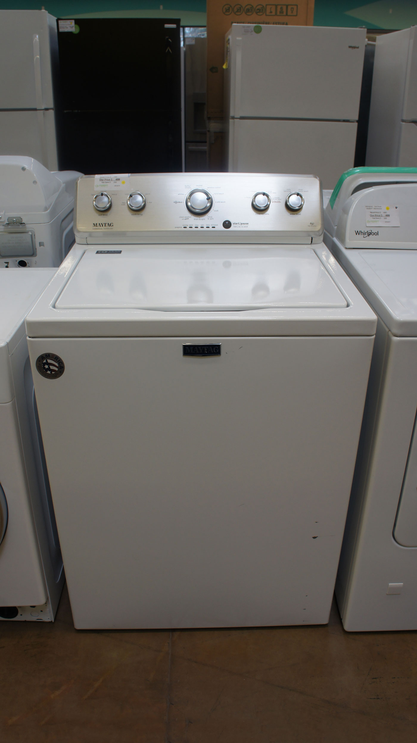 "27"" Maytag MVWC565FW 4.2 cu.ft. Top Load Washer"