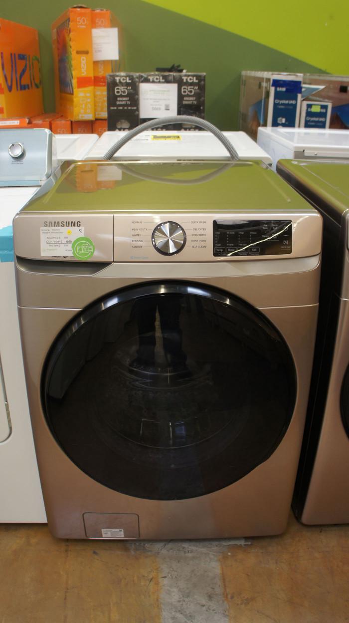 "27"" Samsung WF45R6100AC 4.5 cu.ft. Front Load Washer"