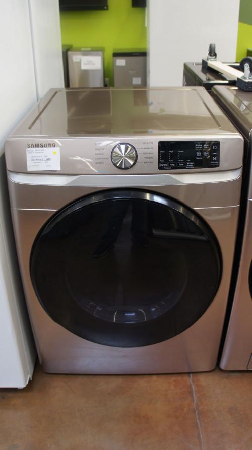 "27"" Samsung DVE45R6100C 7.5 cu.ft. Electric Dryer"