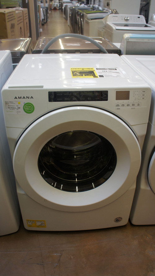 "27"" Amana NFW5800HW 4.3 cu.ft. Front Load Washer"
