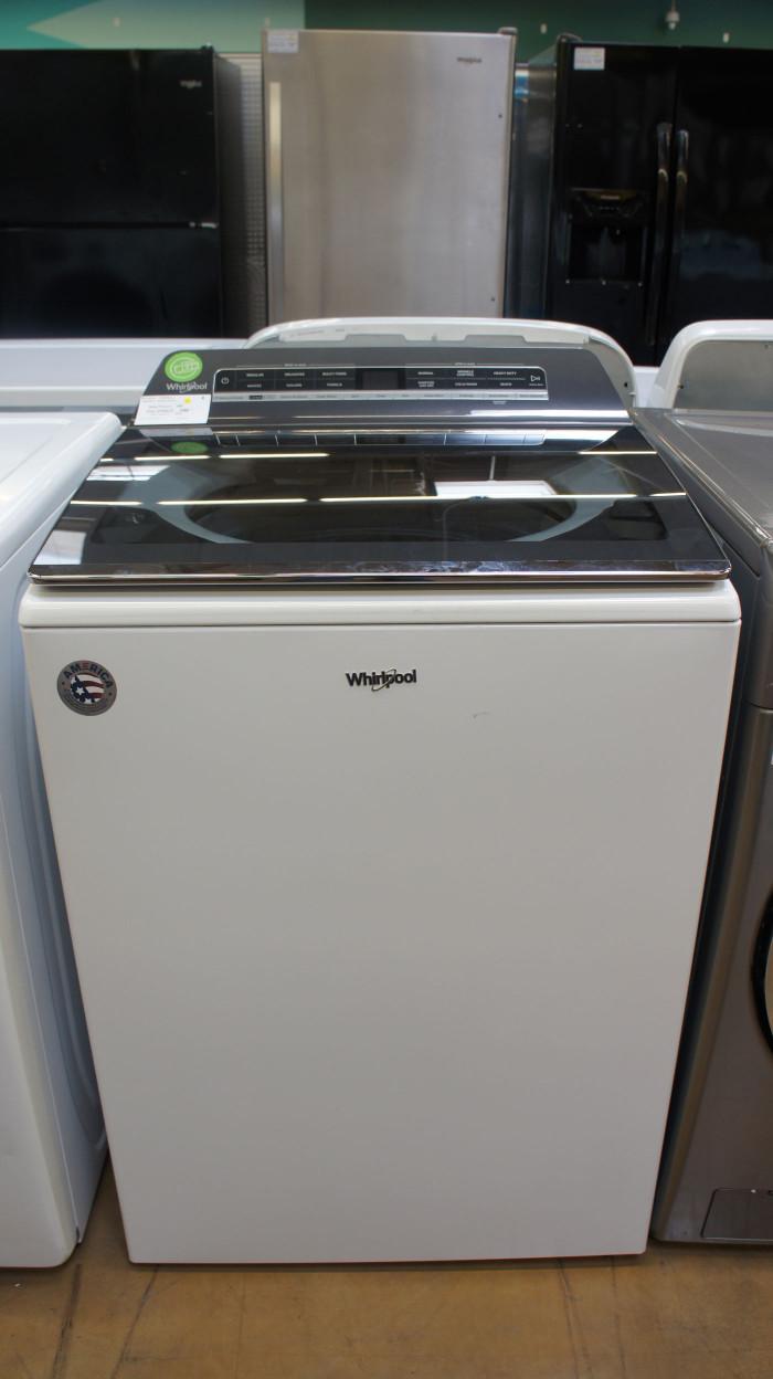 "27"" Whirlpool WTW7120HW 5.3 cu.ft. Smart Washer"