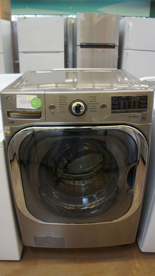 "29"" LG WM8100HVA 5.2 cu.ft. Front Load Washer"