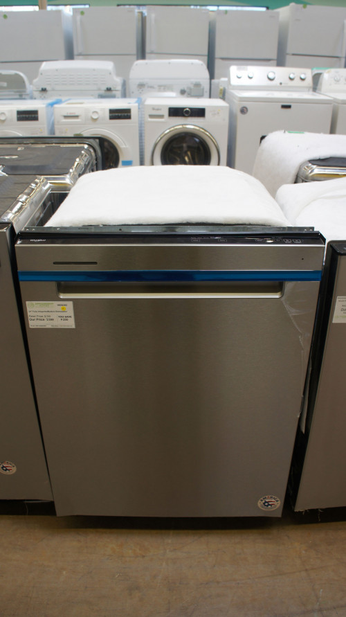 "24"" Whirlpool WDTA50SAKZ 47 dBA Fully Integrated Dishwasher"