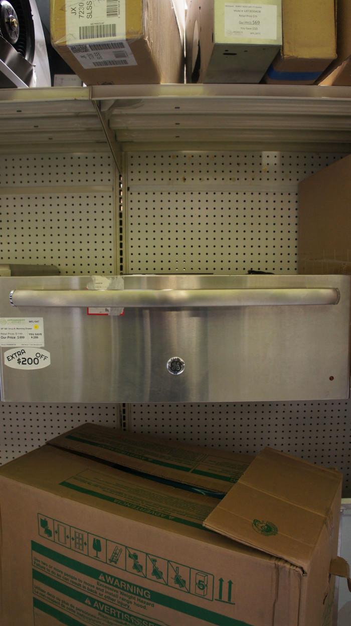 "30"" GE Profile PW9000SFSS 1.9 cu.ft. Capacity Warming Drawer"