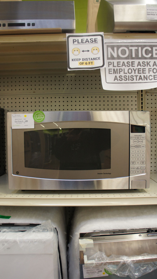 "24"" GE Profile JES2251SJ 2.2 cu.ft. Countertop Microwave"