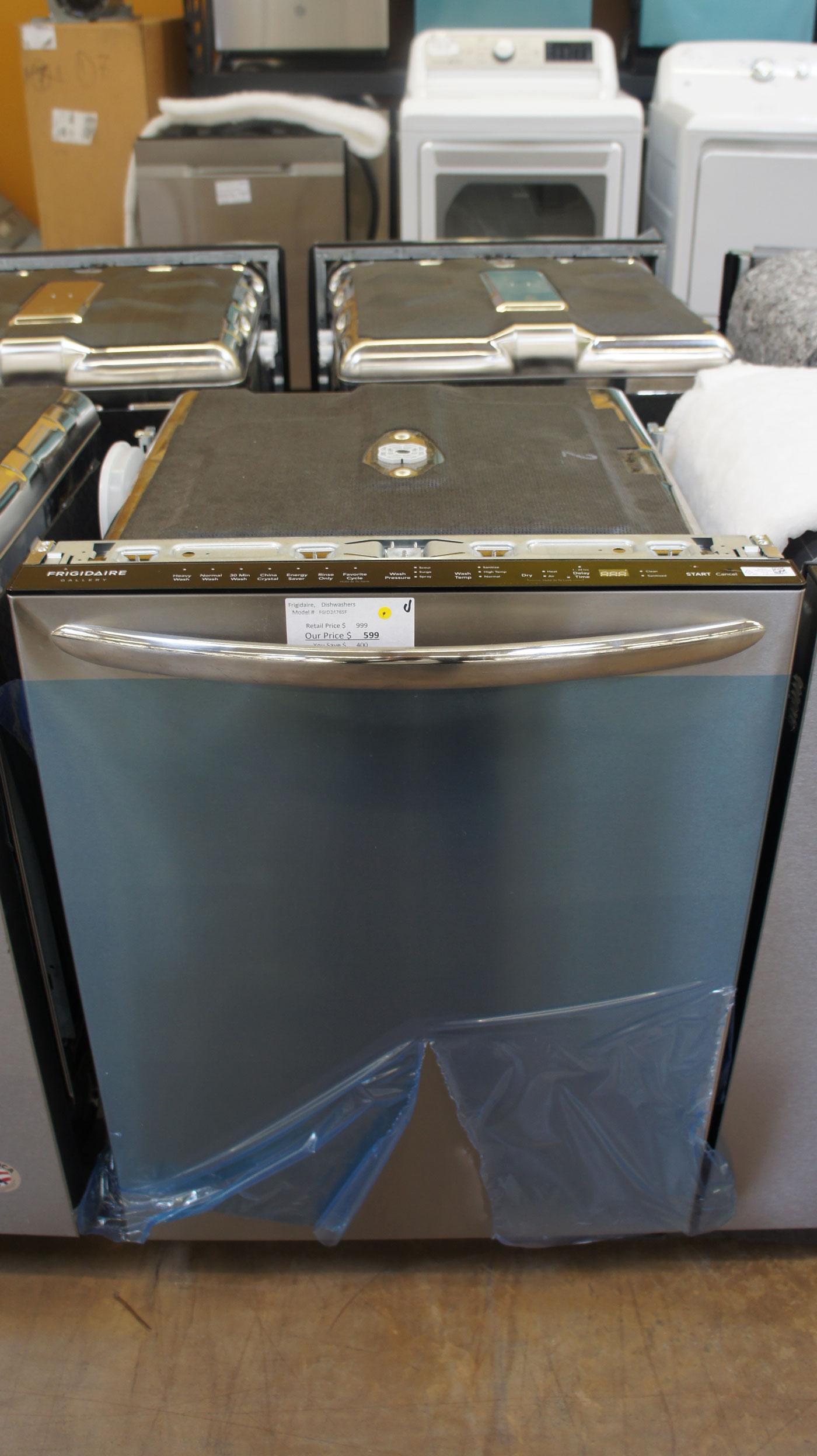 """24"""" Frigidaire FGID2476SF 51 dBA Built-In Dishwasher"""