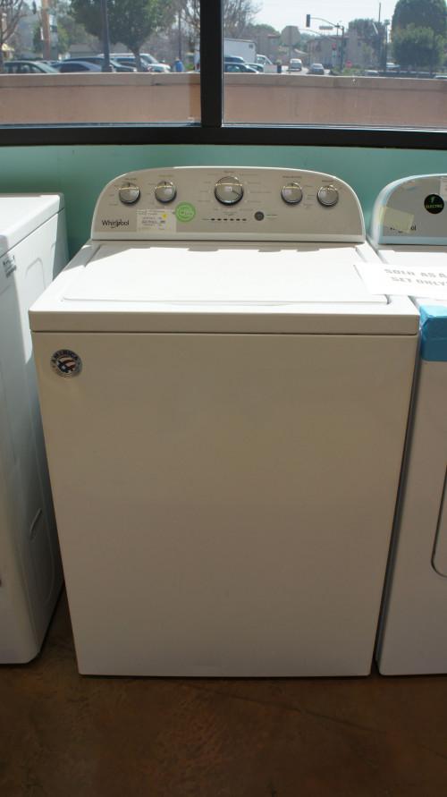 Whirlpool Washer WTW5000DW & WED4815EW Electric Dryer Set