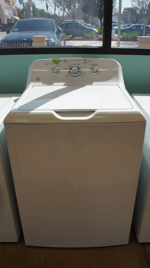GE GTW335ASNWW Top Load Washer