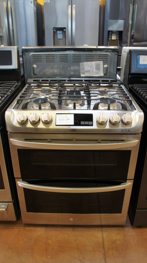 LG LTG4715ST Double Oven Gas Range