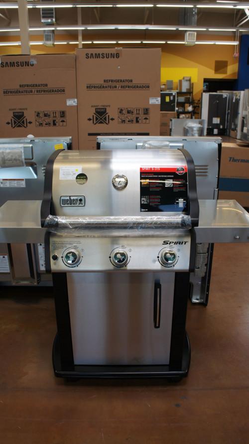 Weber #47502001 Spirit S-315 Freestanding Natural Gas Grill