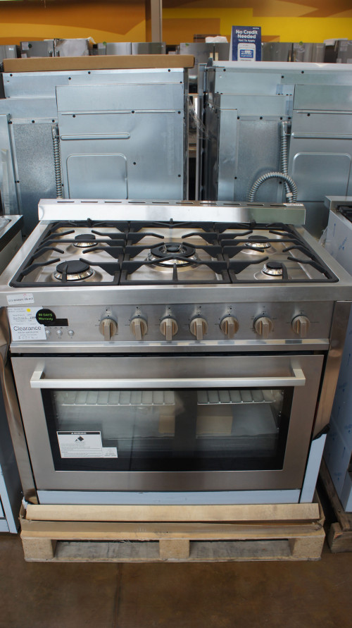 Cosmo COS965AGC Freestanding Single Oven Gas Range